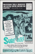 """Movie Posters:Documentary, Blue Surfari (Excelsior, 1967). Folded, Very Fine+. One Sheet (27"""" X 41""""). Documentary.. ..."""