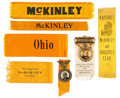Political:Ribbons & Badges, William McKinley: Ribbon Collection....