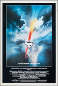 """Movie Posters:Action, Superman the Movie (Warner Bros., R-2002). Rolled, Very Fine/Near Mint. One Sheet (27"""" X 40"""") SS, Bob Peak Artwork. Action...."""