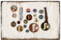 Political:Pinback Buttons (1896-present), Woodrow Wilson: Campaign Buttons and More....