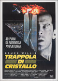 "Movie Posters:Action, Die Hard (20th Century Fox, 1988). Folded, Very Fine+. Italian 2 - Fogli (39.5"" X 55.25""). Action.. ..."