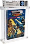 Video Games:Nintendo, Bionic Commando - Wata 9.2 A Sealed [Rev-A, Round SOQ, Early Production], NES Capcom 1988 USA....