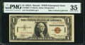 Small Size:World War II Emergency Notes, Fr. 2300* $1 1935A Hawaii Silver Certificate. PMG Choice Very Fine 35.. ...