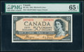 """World Currency, Canada Bank of Canada $50 1954 BC-34a """"Devil's Face"""" PMG Gem Uncirculated 65 EPQ.. ..."""