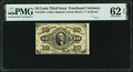 Fractional Currency:Third Issue, Fr. 1256 10¢ Third Issue PMG Uncirculated 62 EPQ.. ...