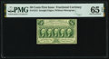 Fr. 1313 50¢ First Issue PMG Gem Uncirculated 65 EPQ
