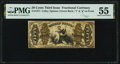 Fr. 1371 50¢ Third Issue Justice PMG About Uncirculated 55