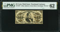 Fractional Currency:Third Issue, Fr. 1297 25¢ Third Issue PMG Uncirculated 62.. ...