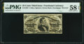 Fractional Currency:Third Issue, Fr. 1297 25¢ Third Issue PMG Choice About Unc 58 EPQ.. ...