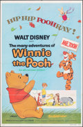 """Movie Posters:Animation, The Many Adventures of Winnie the Pooh & Other Lot (Buena Vista, R-1977). Folded, Fine+. One Sheets (2) (27"""" X 41""""). Animati... (Total: 2 Items)"""