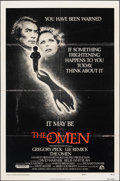 "Movie Posters:Horror, The Omen & Other Lot (20th Century Fox, 1976). Folded, Overall: Fine+. One Sheets (2) (27"" X 41"") Style F. Horror.. ... (Total: 2 Items)"