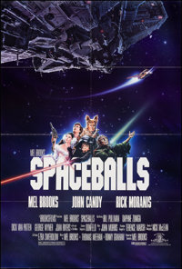 """Spaceballs & Other Lot (MGM, 1987). Folded, Very Fine-. One Sheets (2) (27"""" X 40"""" & 27"""" X 41""""..."""