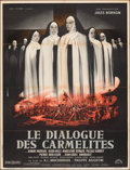 "Movie Posters:Foreign, The Carmelites (Lux Film, R-1963). Folded, Fine+. French Half Grande (31.5"" X 42.25"") Jean Mascii Artwork. Foreign.. ..."