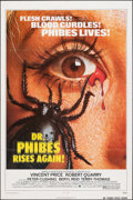 "Movie Posters:Horror, Dr. Phibes Rises Again (American International, 1972). Folded, Fine/Very Fine. One Sheet (27"" X 41""). Horror.. ..."
