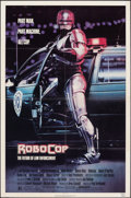 """Movie Posters:Action, RoboCop (Orion, 1987). Folded, Fine/Very Fine. One Sheet (27"""" X 41"""") Mike Bryan Artwork. Action.. ..."""