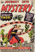 Silver Age (1956-1969):Superhero, Journey Into Mystery #83 (Marvel, 1962) Condition: GD+....