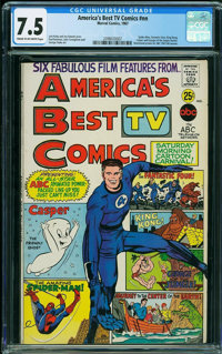 America's Best TV Comics #nn (Marvel, 1967) CGC VF- 7.5 Cream to off-white pages