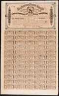 Confederate Notes:Group Lots, Ball 303 Cr. 142A $100 Bond 1864 Fine.. ...