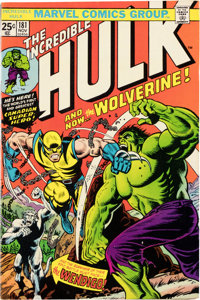 The Incredible Hulk #181 (Marvel, 1974) Condition: FN
