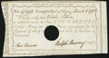 Colonial Notes:Connecticut, Connecticut Fiscal Paper March 4, 1790 2 Pounds Very Fine-Extremely Fine.. ...