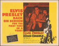 "King Creole (Paramount, R-1959). Rolled, Very Fine. Half Sheet (22"" X 28""). Elvis Presley"