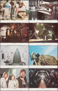 """Movie Posters:Science Fiction, Star Wars (20th Century Fox, 1977). Near Mint/Mint. Lobby Card Set of 8 (11"""" X 14""""). Science Fiction.. ... (Total: 8 Items)"""