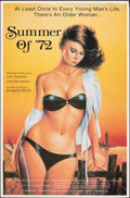 """Movie Posters:Adult, Summer of '72 & Other Lot (Caballero Control, 1987). Overall: Folded, Very Fine. One Sheets (2) (25"""" X 38"""" & 27"""" X 41""""). Adu... (Total: 2 Items)"""