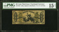 Fractional Currency:Third Issue, Fr. 1348 50¢ Third Issue Justice PMG Choice Fine 15 Net.. ...