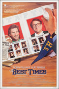 "Movie Posters:Comedy, The Best of Times & Other Lot (Universal, 1986). Rolled, Very Fine. One Sheets (2) (27"" X 41"" & 26.5"" X 40"") SS. Comedy.. ... (Total: 2 Items)"