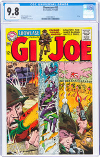 Showcase #53 G. I. Joe (DC, 1964) CGC NM/MT 9.8 White pages