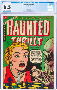 Haunted Thrills #16 (Farrell, 1954) CGC FN+ 6.5 Cream to off-white pages