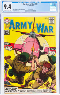 Our Army at War #121 (DC, 1962) CGC NM 9.4 Off-white to white pages