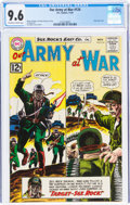 Silver Age (1956-1969):War, Our Army at War #124 (DC, 1962) CGC NM+ 9.6 Off-white to white pages....