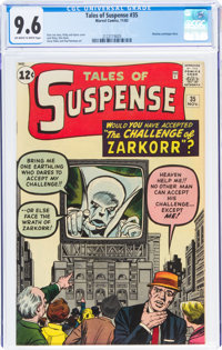 Tales of Suspense #35 (Marvel, 1962) CGC NM+ 9.6 Off-white to white pages