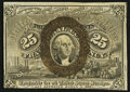 Fr. 1284 25¢ Second Issue About New