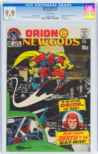 The New Gods #3 (DC, 1971) CGC MT 9.9 White pages