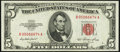 Small Size:Legal Tender Notes, Fr. 1532 $5 1953 Legal Tender Note. Choice Crisp Uncirculated.. ...