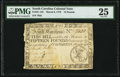 Colonial Notes:South Carolina, South Carolina March 6, 1776 £15 PMG Very Fine 25.. ...