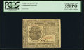 Continental Currency February 26, 1777 $7 PCGS Choice About New 55PPQ