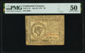 Continental Currency July 22, 1776 $8 PMG About Uncirculated 50