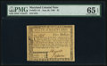 Colonial Notes:Maryland, Maryland June 28, 1780 $5 PMG Gem Uncirculated 65 EPQ.. ...