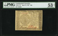 Continental Currency April 11, 1778 $40 PMG About Uncirculated 53 Net