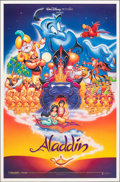 "Movie Posters:Animation, Aladdin & Other Lot (Buena Vista, 1992). Rolled, Very Fine. One Sheets (2) (27"" X 41"" & 27"" X 40"") DS. Animation.. ... (Total: 2 Items)"