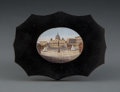 Other, An Italian Micro Mosaic Paper Weight Depicting a View of St. Peter's Square, late 19th century . 2-3/4 x 3-3/4 x 1/4 inches ...