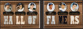 Baseball Cards:Singles (1970-Now), 2007 Topps Triple Threads Hall Of Famers Double Combos Relic Booklet #15 - Serial Numbered 27/27....