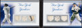 """Baseball Cards:Singles (1970-Now), 2009 Topps Sterling """"Sterling Pairs"""" Booklet Babe Ruth/Lou Gehrig Jersey Relic #SPR-1 - Serial Numbered 10/10. ..."""