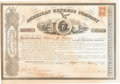 Autographs:Inventors, Henry Wells and William G. Fargo: Signed Stock Certificate. ...