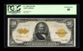 Large Size:Gold Certificates, Fr. 1200 $50 1922 Gold Certificate PCGS Extremely Fine 40....