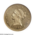Liberty Eagles: , 1846 $10 MS61 NGC. The 1846 ten dollar is typically ...