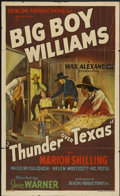 "Movie Posters:Western, Thunder Over Texas (Beacon Productions, 1934). One Sheet (27"" X41""). Western...."